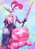 Peppermint Knight by lilyhosegood