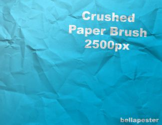 Crushed_Paper by bellapester