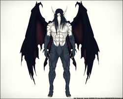 Cain Demon Form 2015 by Arrancarfighter