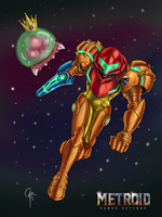 Metroid: Samus Returns by Alkor-3rd