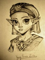 Young Princess Zelda- pat-mcmichael by AngelHeaven1111