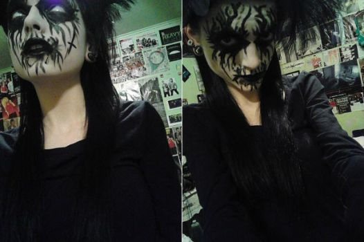 'Tis my corpse paint, dear. by Chynna97