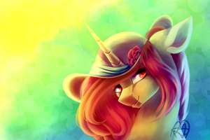 Pone With Hat by PrettyShineGP