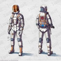 Spacesuit concept-art by orange-magik