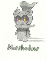 Marshadow Drawing by Wildcat1999