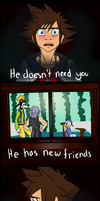 Kingdom Hearts: You Don't Need that Wretched Boy by JodieDoe