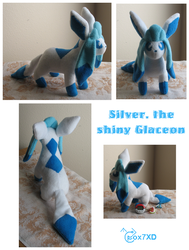 Shiny Glaceon by Fox7XD