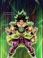 NEW BROLY the strongest super saiyan by marvelmania