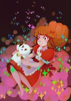 Bee and puppycat by ohparapraxia