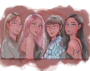 MAMAMOO Red Moon by FCee07