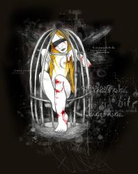 caged angel by glittersniffer