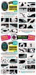 How to draw SHADOW COMPOSITIONS tutorial by STUDIOBLINKTWICE