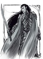 Elrond, the Experienced Warrior by MellorianJ