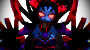 [MMD Undertale] Would you smooch this spider? by DrStinger