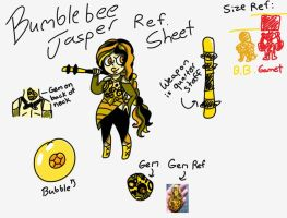 Bumblebee Jasper Ref Sheet by ChocolateCake222
