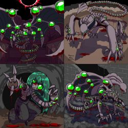 Corrupted Monsters Colored by Anubis2Pabon288