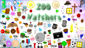 200 Watchers Collage! by AwesomecatmanDA