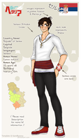 [HETALIA] Serbia Profile by melondramatics