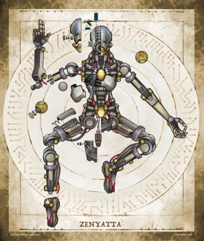 Zenyatta Deconstructed by Christopher-Stoll