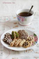 Tea party at home by kupenska