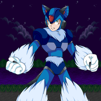 Megaman X... the Woofhog! by DLN-00X