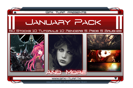 GT's January Resource Pack by Gfx-Turf