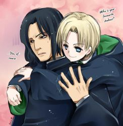 Snape x Draco by inma