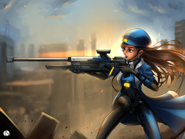 Ana overwatch by rothanavatar