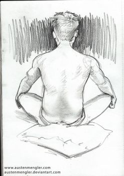 Life Drawing Session #3 - 04 by AustenMengler