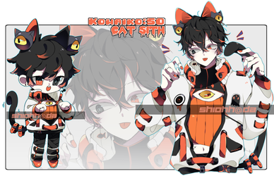 Kowaiko 50 : Cat Sith AUCTION CLOSED by shiohh