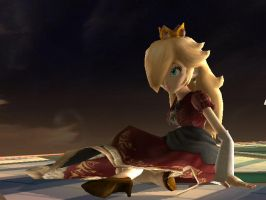 Red Rosalina by MetroidMaster56