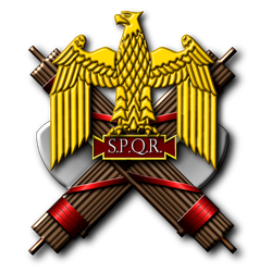 Eagle and Fasces lictoriae - Peter Crawford by PeterCrawford