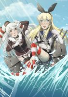Kantai Collection by Twinkiesama