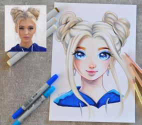 Loren Gray by Lighane