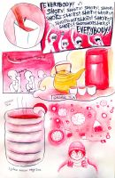 lychee tea shots by Chocoreaper