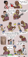 L4D2 :: Adventures with Coach by goth-bird