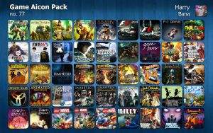 Game Aicon Pack 77 by HarryBana