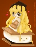 S'more Chibi by Yampuff coloured by Hotaru-oz