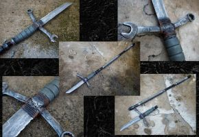 Spear-knife, Post Apocalyptic by KillingjarStudios