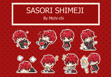 Sasori Shimeji by Michi-chi