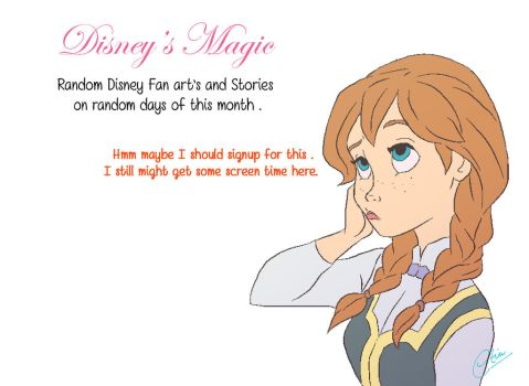 Disney's Magic - Princess Anna by Creatia7