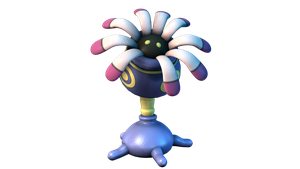 Lileep 3D Model Pokemon