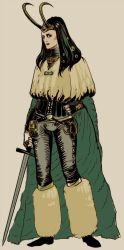 Loki is... much of a lady by Larbesta