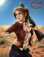 Claire Redfield Resident Evil by billtheartist