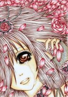 Petals as many as my Tears by hoshicho