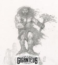 Giganteus---Pinnacle Pair sketch by McHughstudios