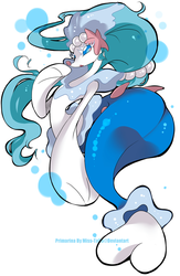 Pokemon Sun Moon - Primarina by Mymy-TaDa