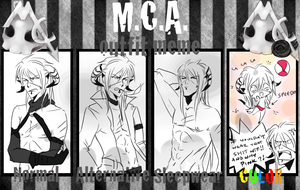 MCA - lack of outfits meme by hellangel