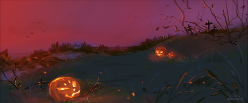 Halloween by AlaxendrA