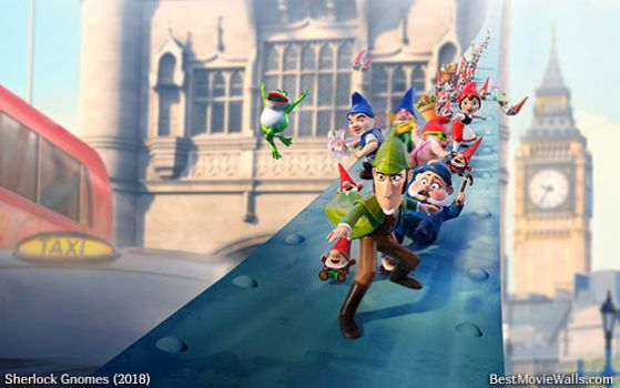 Sherlock Gnomes 01 BestMovieWalls by BestMovieWalls